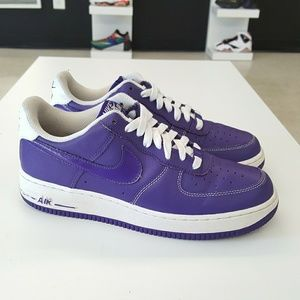 Nike Air Force 1 Low Purple Court